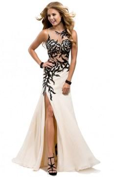 illusion-chiffon-nude-black-sparkle-prom-gown-dresses-P2806-621x960
