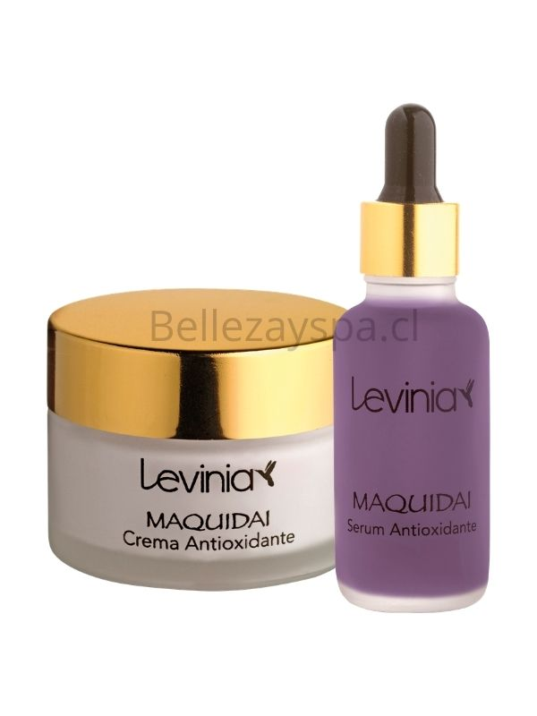 Pack Antioxidante Maquidai - Serum + Crema Facial