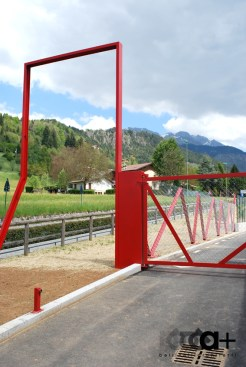 CRR Ripreso-dettaglio cancello uscita