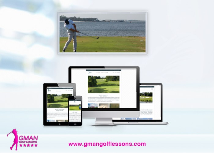 Gman Golf Lessons Website