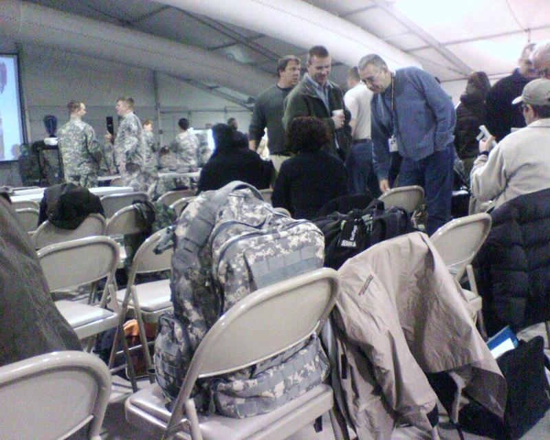 400 plus in the tent