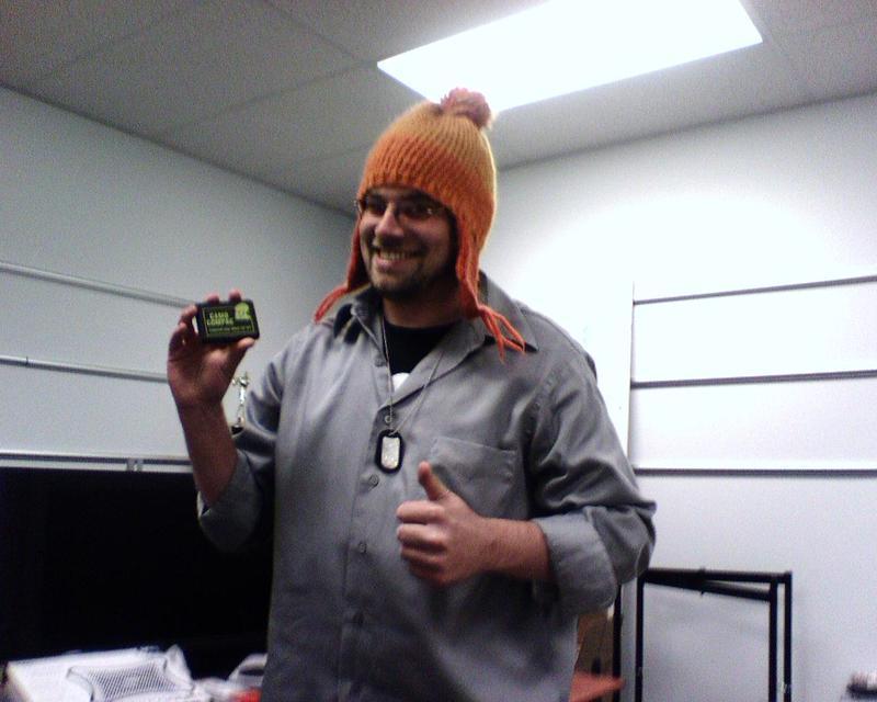Jason, at corporate