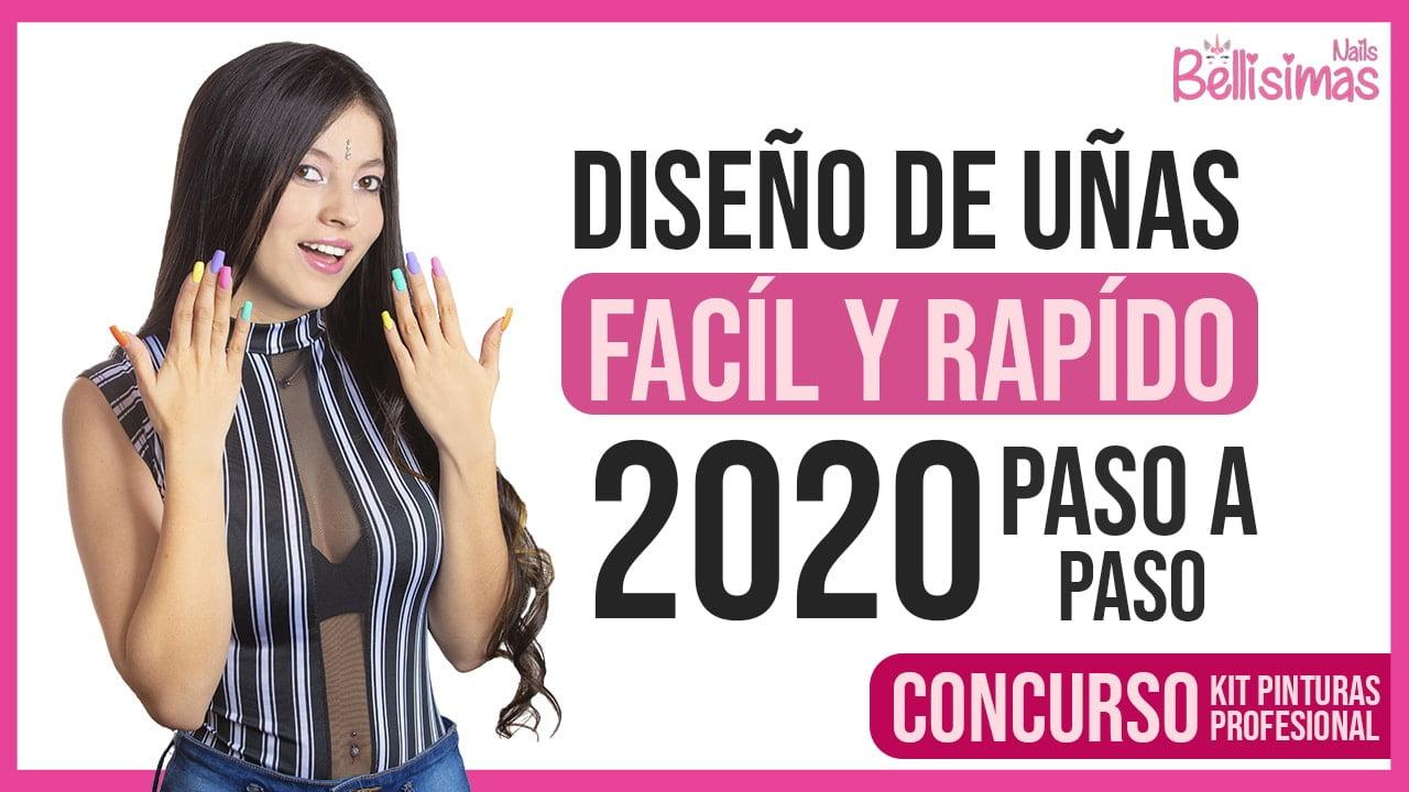 diseños de uñas 2020