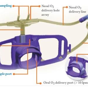 Smart Capnoline Guardian with O2 Tubing