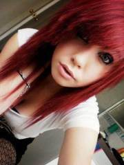 awesome emo hairstyle