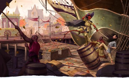 D&D: The Art Of Waterdeep Shows A Wild And Crazy Night In Dragon Heist Bell of Lost Souls