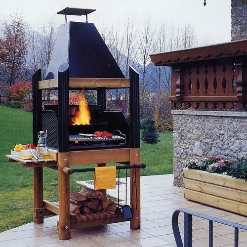 Barbecue Caminetto Fiamma 90 Belletto Arredo Giardino