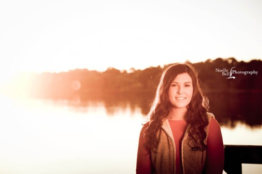 Dani Crowder Senior Pictures Maryville High School Noelle Bell Photography Water Sunset Senior_0268.1b