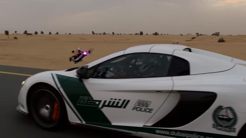 Super Car races a Drone – Video Promo, First Ever World Drone Prix in Dubai