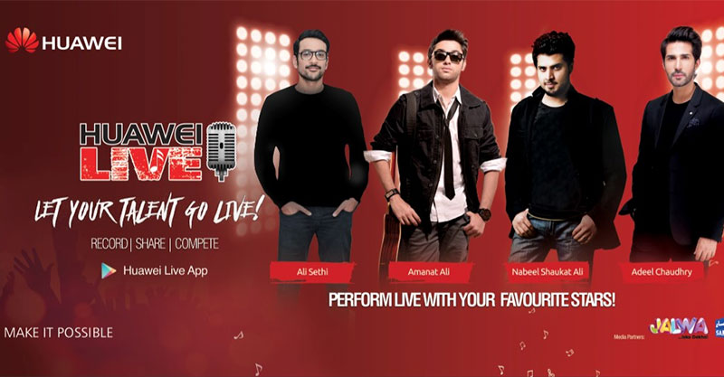 Huawei Pakistan held Finale event of its Huawei Live Campaign in Lahore