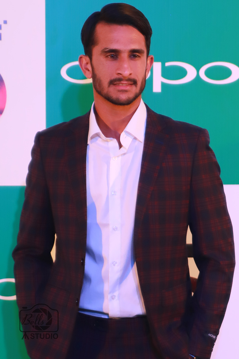 Hassan Ali at OPPO F5 Launch