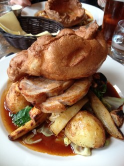 Sunday roast at the Ship