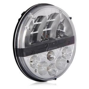 """Maxxima 7"""" Round Dual Beam Headlight"""
