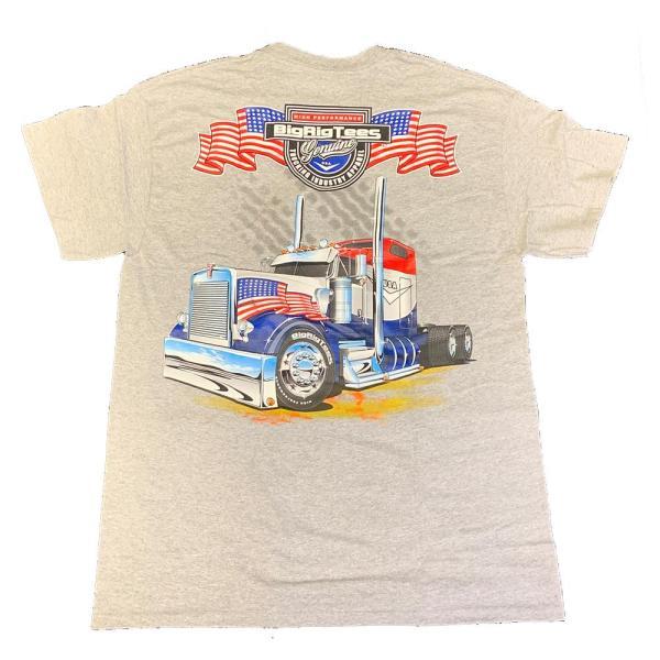 Bells-And-Whistles-Chrome-Shop-Trucks-Aftermarket-Accessories-Apparel-Big Rig Tees-Patriot Tee-Peterbilt-Kenworth-Freightliner-Mack-Volvo-Lonestar