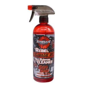 Bells-And-Whistles-Chrome-Shop-Trucks-Aftermarket-Accessories-Polishing-Renegade Products-Rebel Savage All Purpose Cleaner-Peterbilt-Kenworth-Freightliner-Mack-Volvo-Lonestar