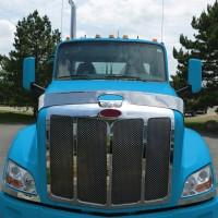 Bells-And-Whistles-Chrome-Shop-Trucks-Aftermarket-Accessories-Hoods-Trux Accessories-Peterbilt-579-Bug-Screen-Peterbilt-Kenworth-Freightliner-Mack-Volvo-Lonestar