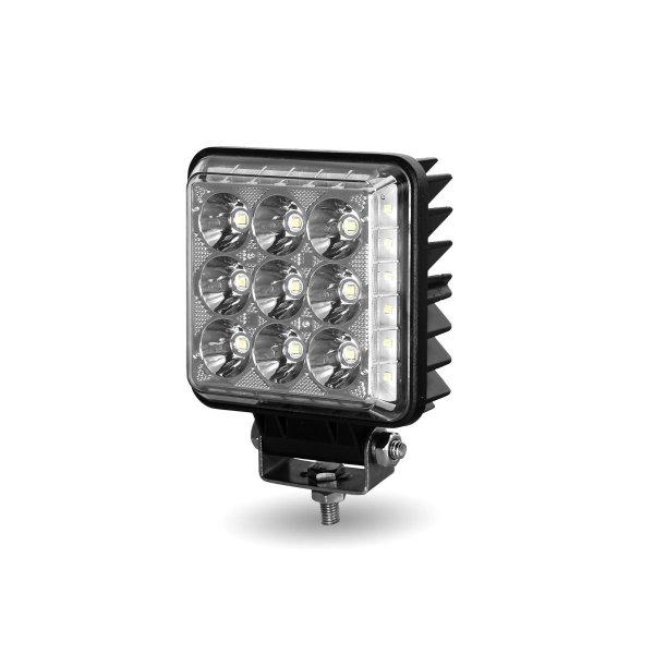 Bells-And-Whistles-Chrome-Shop-Trucks-Aftermarket-Accessories-Headlights-Trux-Accessories-4 ¼-Square-Radiant-Series-LED-Work-Lamp-Peterbilt-Kenworth-Freightliner-Mack-Volvo-Lonestar