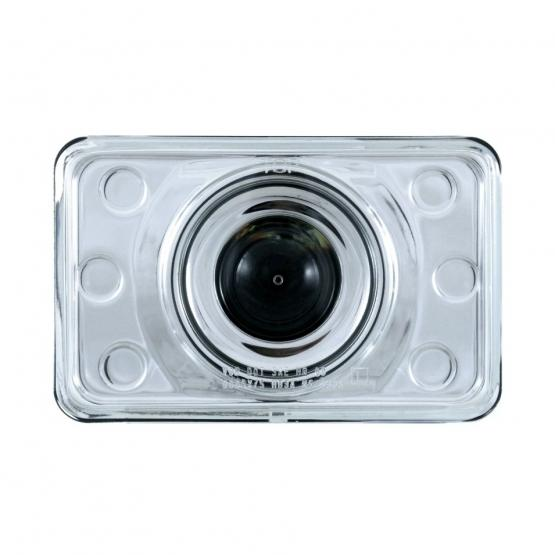 """United Pacific 4"""" x 6"""" Crystal Projection Headlight - Low Beam"""