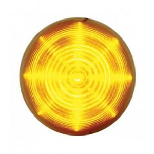 """United Pacific 2 1/2"""" Amber Beehive Clearance/Marker Light- On"""