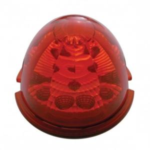 United Pacific  17 LED Reflector Watermelon Cab Light - Red LED/Red Lens