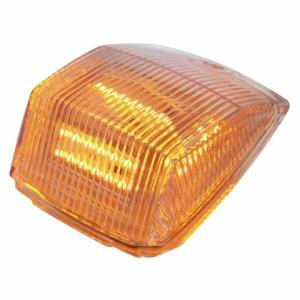 United Pacific36 LED Square Cab Light - Amber LED/Clear Lens