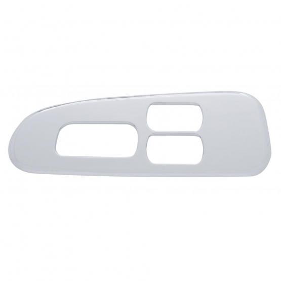 Bells-And-Whistles-Chrome-Shop-Trucks-Aftermarket-Accessories-Interior-United Pacific-Peterbilt Window Switch Trim-Peterbilt-Kenworth-Freightliner-Mack-Volvo-Lonestar