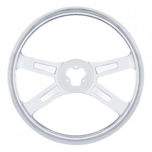 "United Pacific 18"" Stainless Steering Wheel"