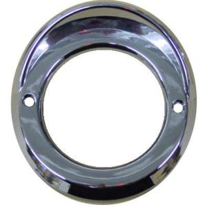 "Lifetime Nut Covers 2 1/2"" Light Bezel with Visor"