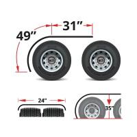 "80"" Heavy Duty Rollin'Lo Long Half Fenders"