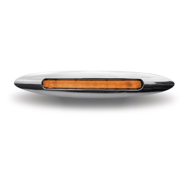 "Trux Accessories 4.5"" Slim Amber LED Marker Light"