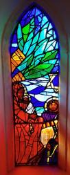 Stained Glass designed by Lesley Marshall