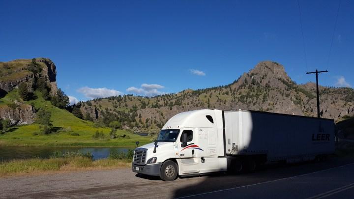 Boondocking Trucker Style