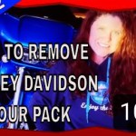 How to Remove Harley Davidson Tour Pack
