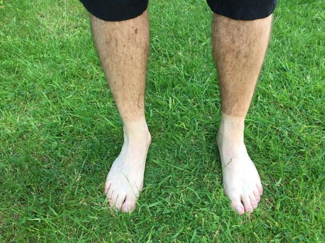Dusty legs