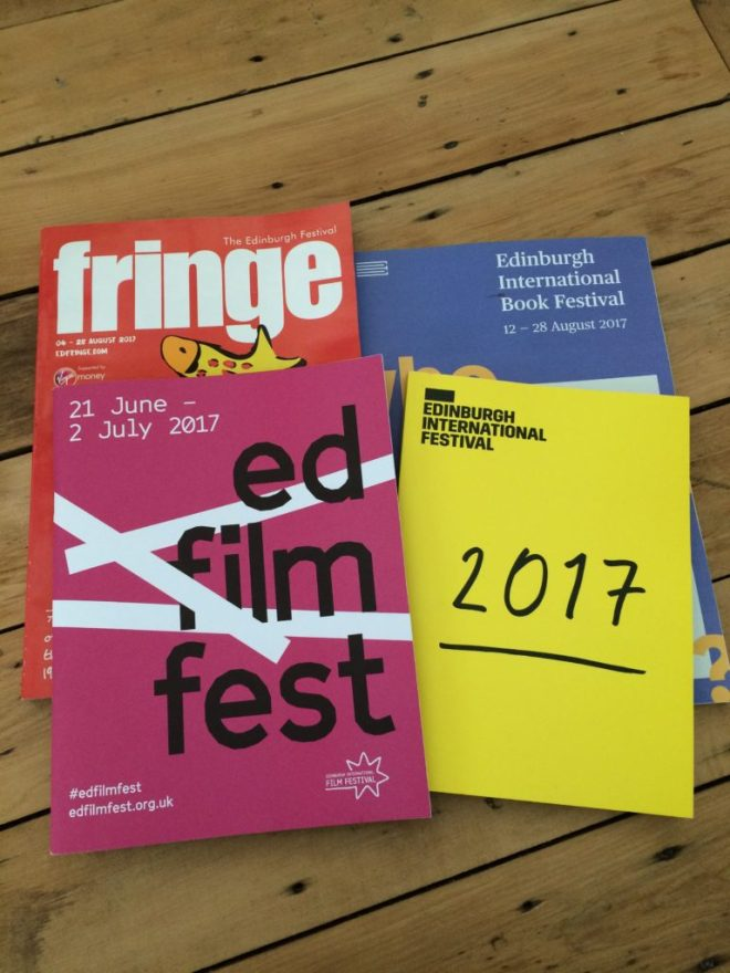 Edinburgh Festival Programmes