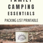 Family Camping Essentials | Packing List |