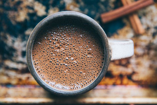 fun family camping - hot chocolate | Photo by Rachael Gorjestani on Unsplash