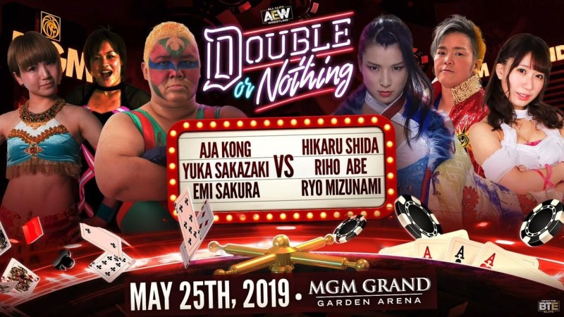 Joshi wrestling gets a well earned spotlight at AEW Double or Nothing