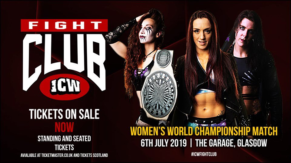 Kay Lee Ray to defend ICW Women's Title in July triple threat