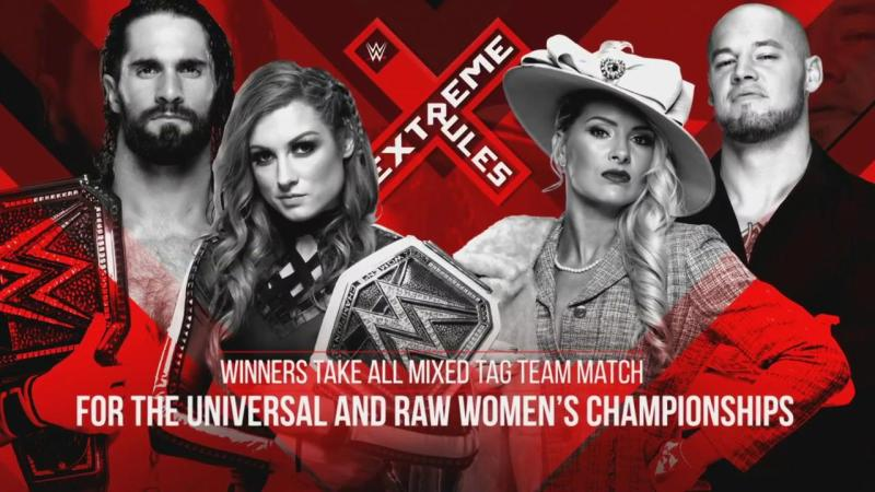 """""""Winners Take All"""" mixed tag team title match announced for Extreme Rules"""