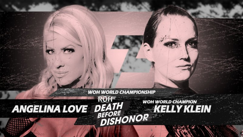 WOH title match added to Death Before Dishonor