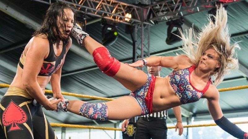 Candice LeRae will challenge Shayna Baszler in two weeks