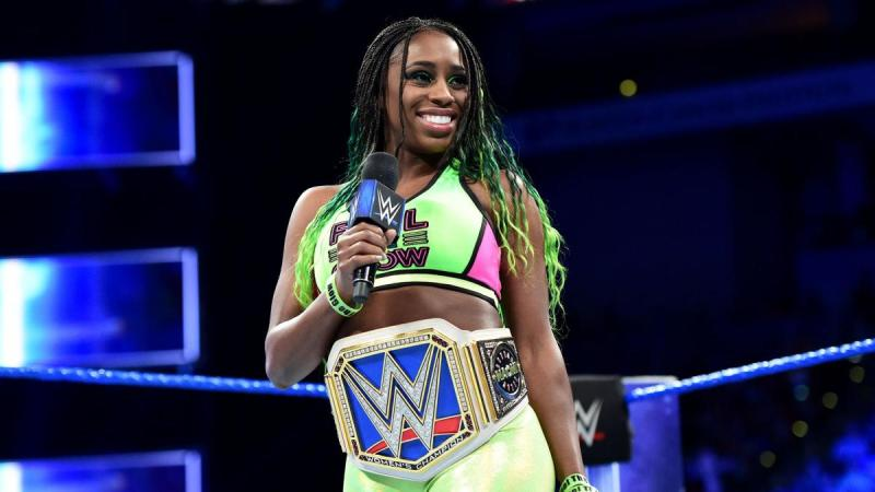 Naomi gives an update on her status with WWE