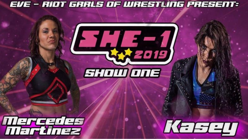 EVE reveals first matches for the 2019 SHE-1 Series