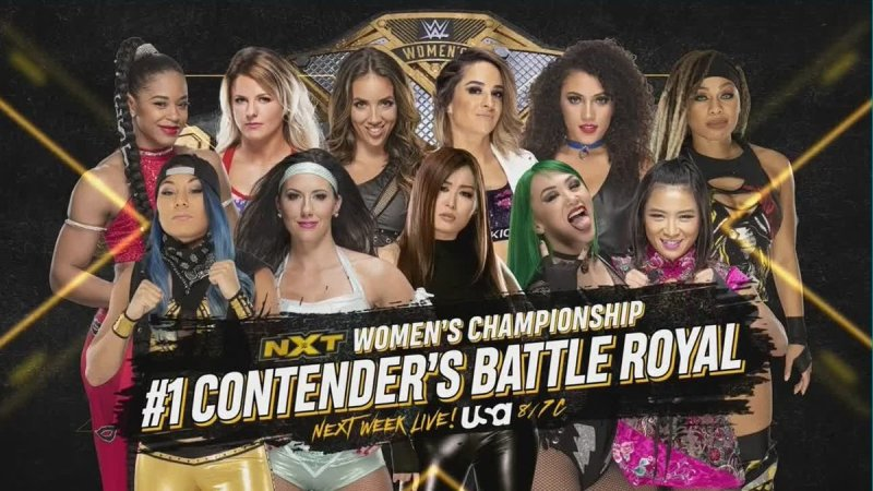 Battle Royal next week on NXT to determine Rhea Ripley's next challenger