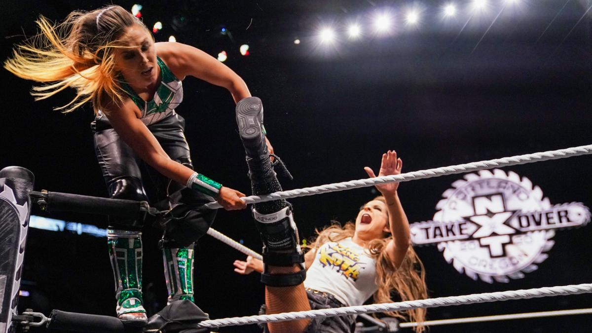 Dakota Kai and Tegan Nox to compete in a steel cage match