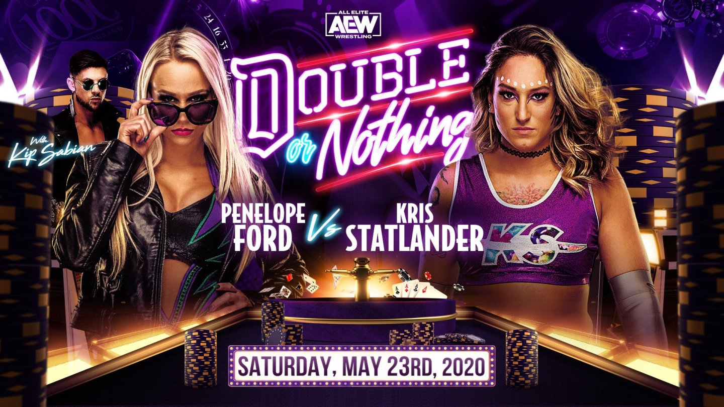 Britt Baker Double or Nothing