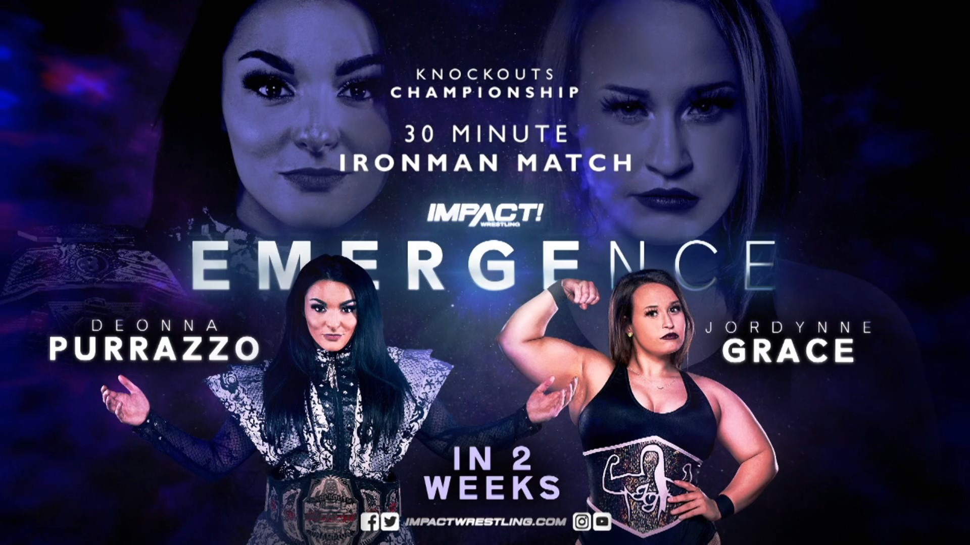 First-ever Knockouts Iron Man Match to headline Emergence