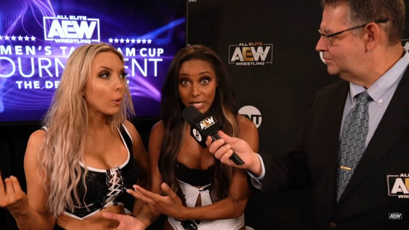 Two teams advance in the AEW Women's Tag Team Cup