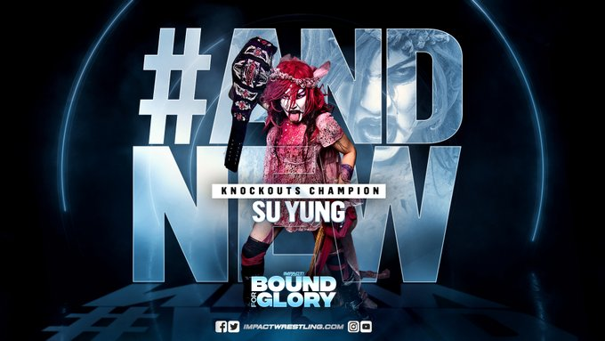 "Su Yung wins Knockouts Title at ""Bound For Glory"""